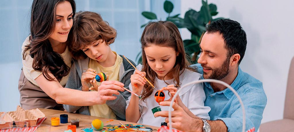21 ideas creativas y educativas para hacer con los niños y niñas en casa